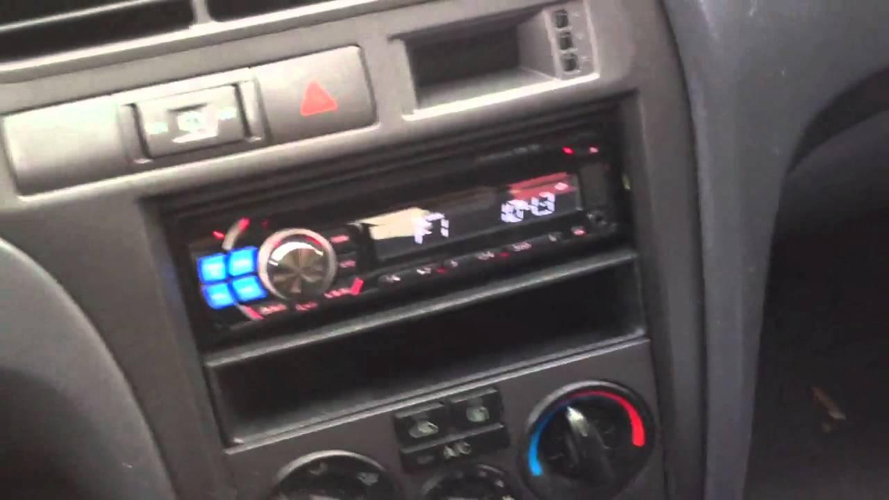 2001 Hyundai Elantra Alpine Electronics Dash Kit Radio Cde-121 IPOD ...