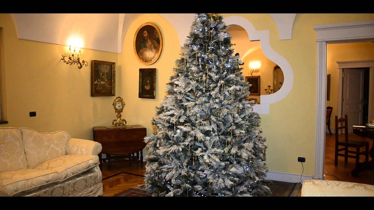 Albero di natale con swarovski youtube for Obi albero di natale