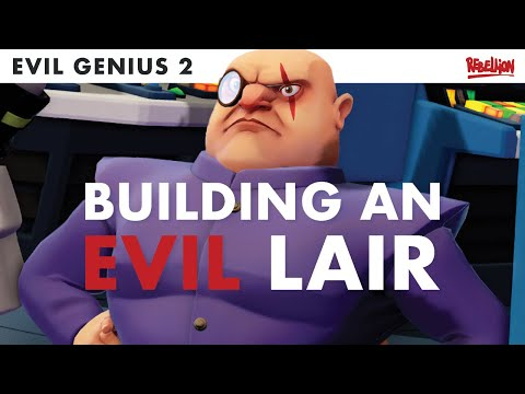 Evil Genius 2 | How To Get Your Lair Up And Running |