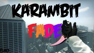 Karambit Fade HD Para CS 1.6 [2017]