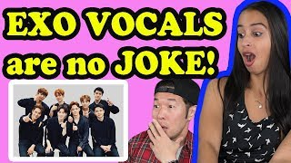 Video EXO VOCALS ARE NO JOKE REACTION!! download MP3, 3GP, MP4, WEBM, AVI, FLV Agustus 2017
