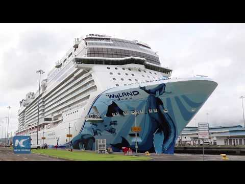 Norwegian Bliss sets new record for cruise ships on Panama Canal