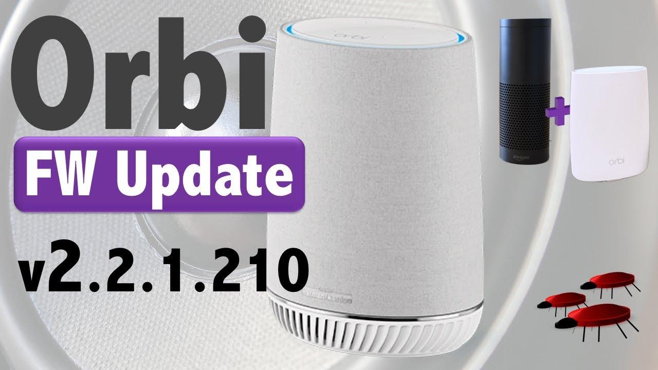 Netgear Orbi Voice | FW v2 2 1 210 | App Update