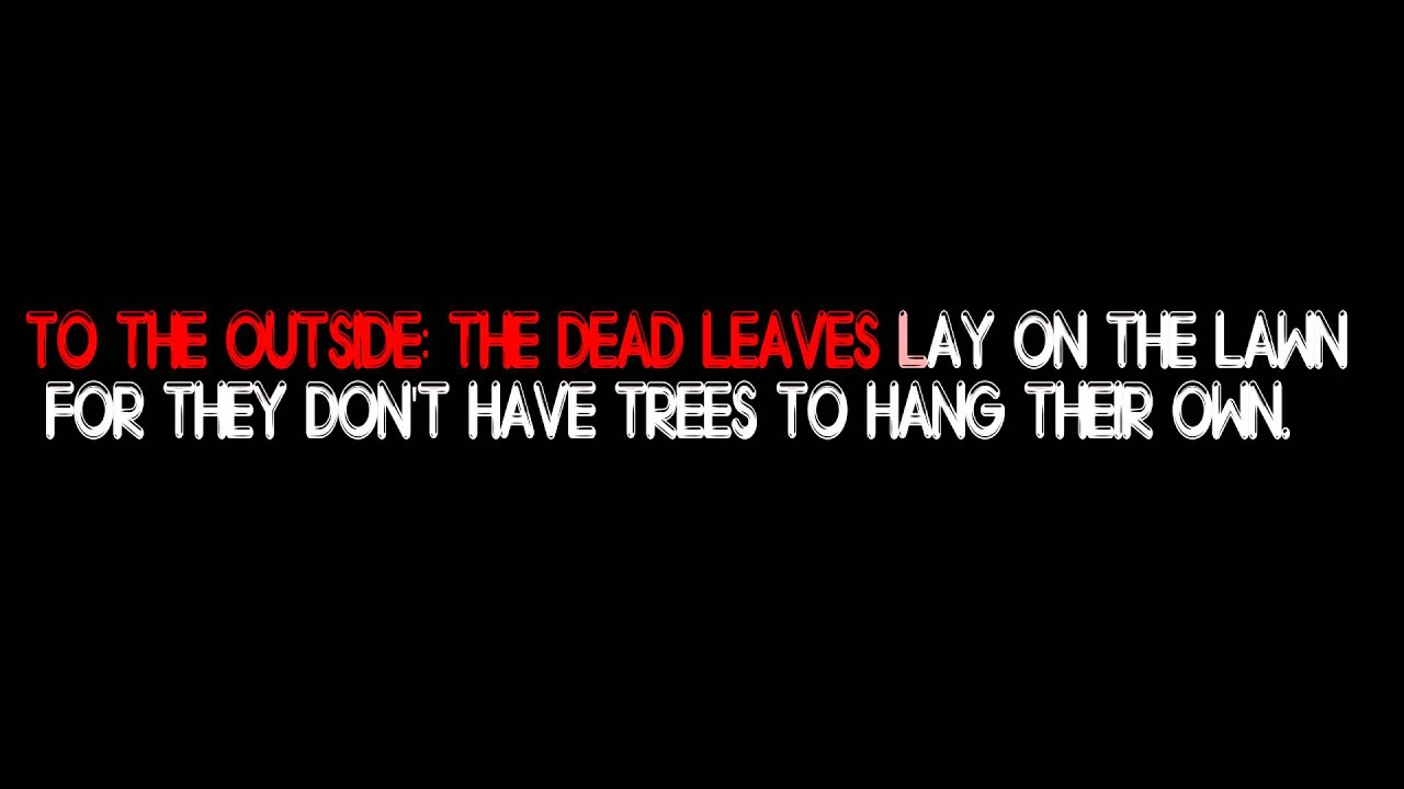 Band of horses - the funeral lyrics - YouTube Under A Funeral Moon