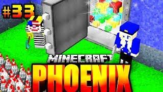 EINBRUCH im XXL TRESOR?! - Minecraft Phoenix #033 [Deutsch/HD]