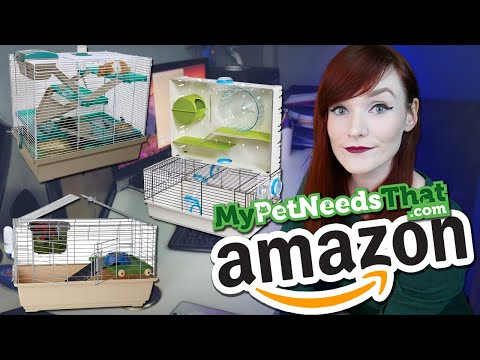 Reacting To Amazons 2020 Best Hamster Cages   Munchie's Place