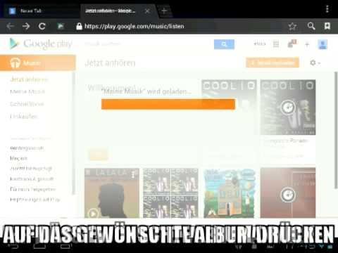 Musik von Google Play Store als mp3 speichern