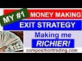 WRITING COVERED CALLS - EXIT Strategies that make you RICH!!!