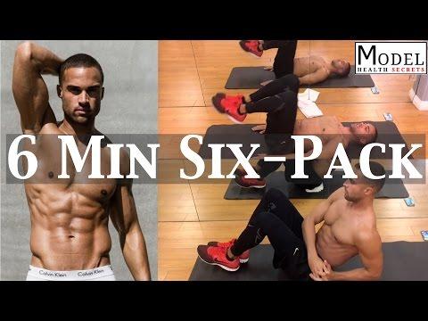 Underwear Model Ab Workout | MODEL HEALTH SECRETS