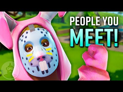 11 More Players YOU Meet In EVERY Fortnite Match! Vol. 2   The Leaderboard