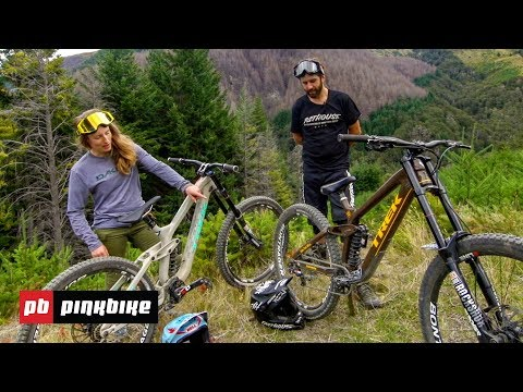 Casey Brown and R-Dog Trek Session Bike Checks