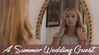 GRWM // WEDDING GUEST: Makeup, Hair & Outfit!