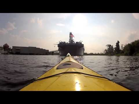 Paddle around USS North Carolina and downtown Wilmington, NC