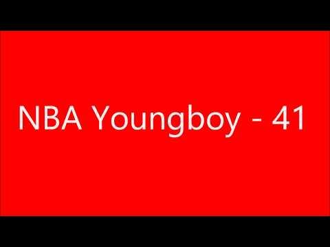 NBA YoungBoy - 41 lyrics
