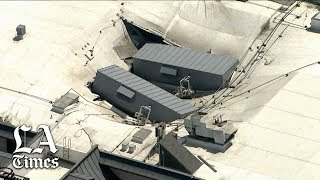 11 hurt in roof collapse at Gardena casino