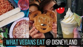 What Vegans Eat @ Disneyland and California Adventure 🍕🍦🍝