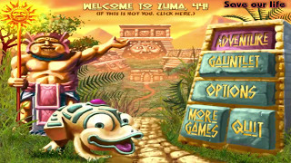 Zuma Deluxe - Playthrough - Part 1 : Temple 1 (Temple of Zukulkan)
