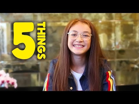 5 Things You Didn't Know About Anna Cathcart from YouTube · Duration:  1 minutes 12 seconds
