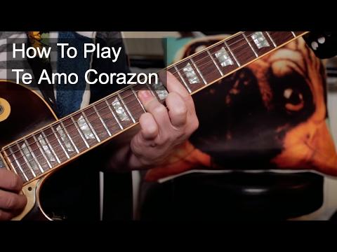 'Te Amo Corazon' Prince Guitar Lesson