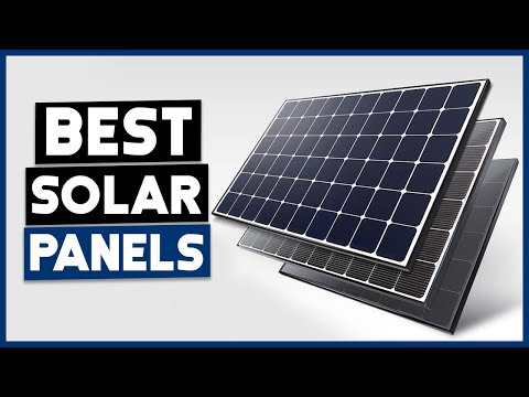 BEST SOLAR PANEL – Top 5 Best Solar Panels Review 2020