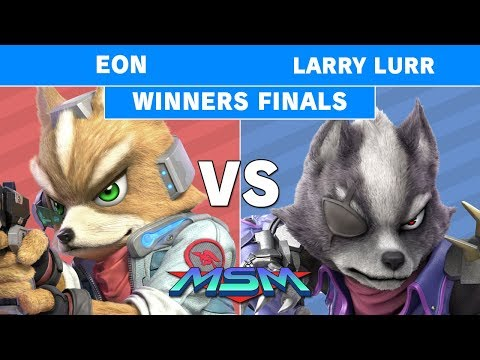 MSM 194 - FS | Eon (Fox) Vs. T1 | Larry Lurr (Wolf) Winners Finals - Smash Ultimate