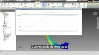 Simulación estática con Autodesk Inventor Professional