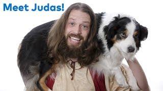 Good Dog Judas! Meet Jesus' best friend 😇🐶