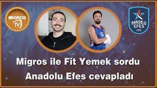  @Migros Türkiye  ile  @Fit Yemek  Soruyor 3. Bölüm - Sertaç Şanlı
