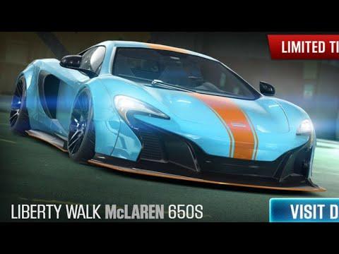 CSR Racing 2| McLaren Liberty Walk 650s legendary golden & Evo Cup