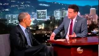 Обама у Джимми Киммела. Часть 2