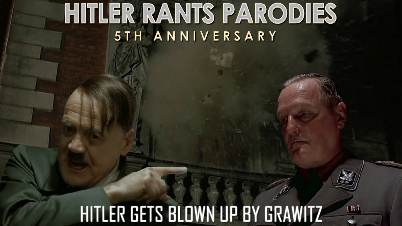 Hitler gets blown up by Grawitz