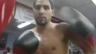 (POV) DANNY GARCIA RAPID-FIRE PUNCHES IN YOUR FACE; PUTTING IN WORK AHEAD OF NOVEMBER 12 RETURN