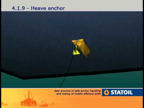 4. Anchor Handling - Heave anchor