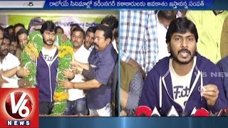 Director sampath nandi visits karimnagar district | wants to encourage new talent | v6 news