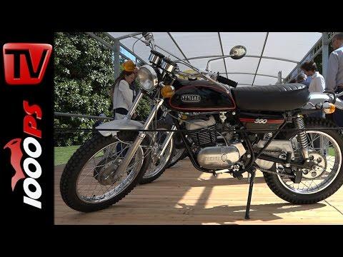Yamaha RT1B Zweitakter | Concorso d'Eleganza 2016 | K.OTs Klassiker