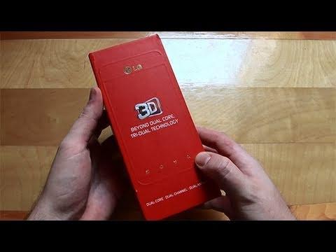 LG Optimus 3D Unboxing