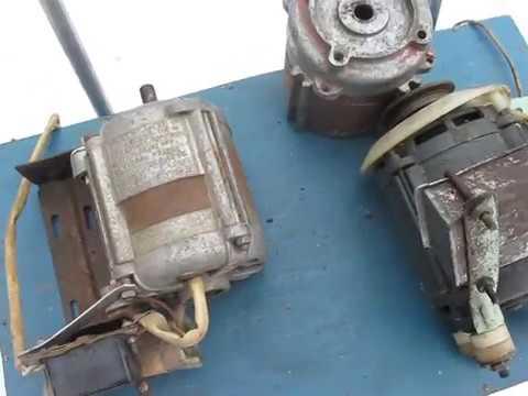 подключение конденсаторный электродвигатель однофазный ремонт