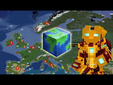 Minecraft Server with THE ENTIRE PLANET ep 01 - Alex Funlord