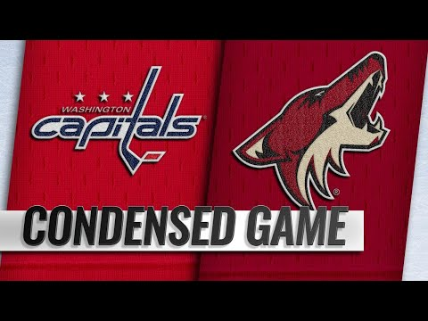 12/06/18 Condensed Game: Capitals @ Coyotes