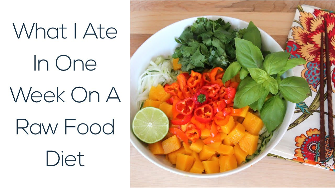 What i ate in one week on a raw food diet youtube what i ate in one week on a raw food diet forumfinder Image collections