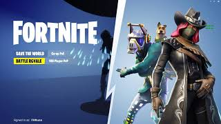 Fortnite Update V6.20 Select Game Mode Screen Character Glitch