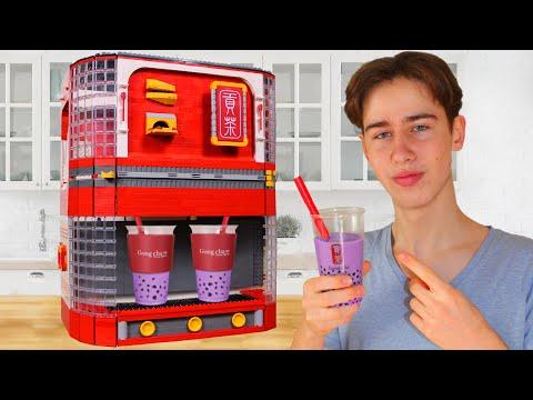 LEGO BOBA Bubble Tea Maker | Gong Cha Royal Milk Tea