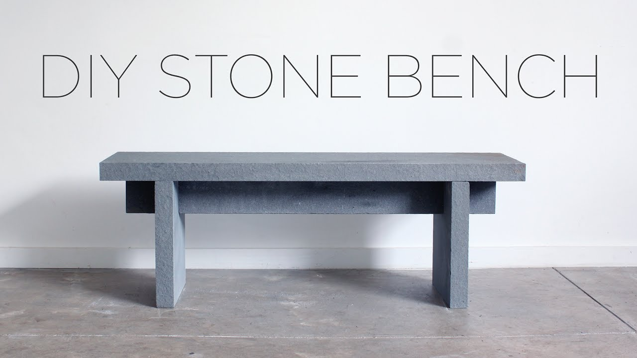 Stone Bench Tops Off Cuts Diy Stone Bench