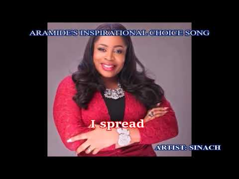 I SPREAD (Lyrics) by Sinach