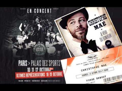 """Christophe Maé, concert 10 oct. 2014, Palais des Sports (Paris • """"Je veux du bonheur"""", 125 mn)"""