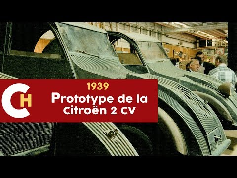 Prototype de la  Citroën 2 CV