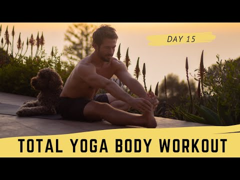 Day 15 Total Body Yoga Workout Challenge | Yoga With Tim