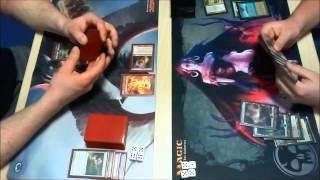 MTG Modern - Mardu Midrange vs. Abzan Midrange (Magic: The Gathering)