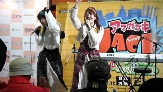 阪神出屋敷駅にてチャンポン娘を発見。
