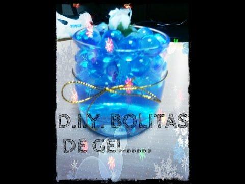 f2cd1e71f DECORACION Y PROCEDIMIENTO BOLITAS DE GEL! - YouTube